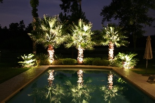 Landscaping Lighting by Big Orange Landscaping